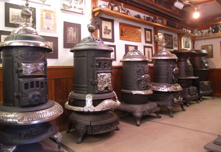 The Alliance For Green Heat Antique Wood Stove