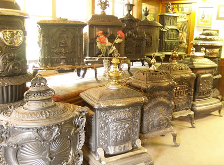 The Alliance for Green Heat - Antique Wood Stove Collections and Museums - The Alliance For Green Heat - Antique Wood Stove Collections And